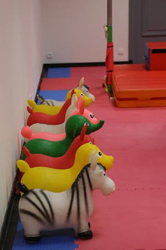 Jeux d'enfants du Go Baby Gym